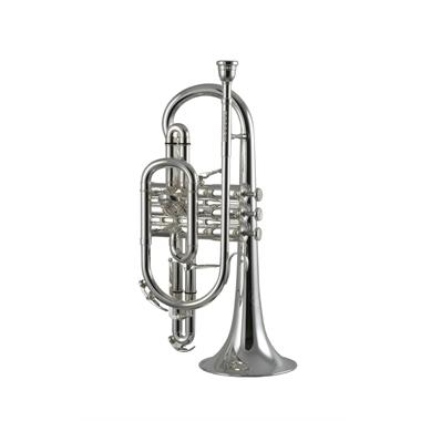Besson Sovereign BE928-2 B flat cornet (silver) thumbnail