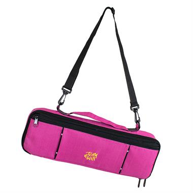 Tom & Will flute case cover (pink) thumbnail