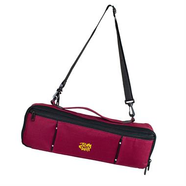 Tom & Will flute case cover (burgundy) thumbnail