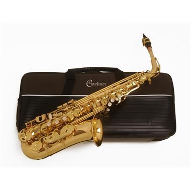 Catelinet CAS10 alto saxophone (lacquer) thumbnail