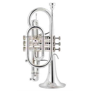 Stomvi Titan B flat cornet (gold brass bell) thumbnail