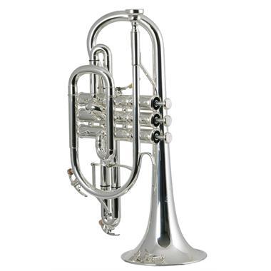 Yamaha Neo YCR8335GS B flat cornet (silver) thumbnail