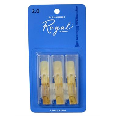 Rico Royal B-flat clarinet reed (3-pack) thumbnail