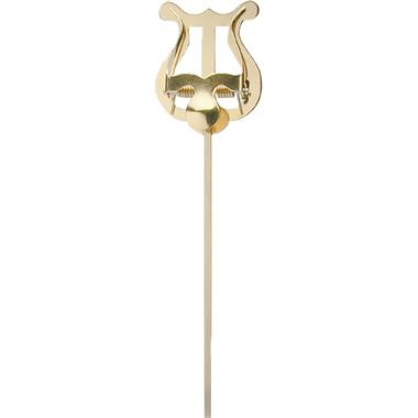 Lyre - small, single lever (brass) thumbnail
