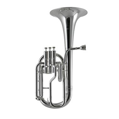 Besson Sovereign 950 tenor horn (silver) thumbnail