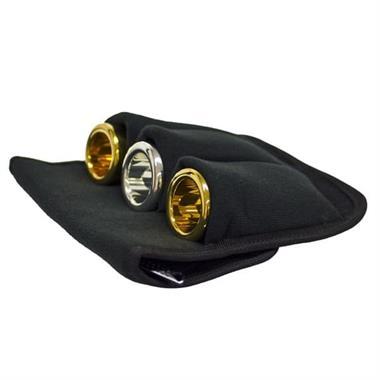 Denis Wick 3-piece tuba mouthpiece pouch (nylon) thumbnail