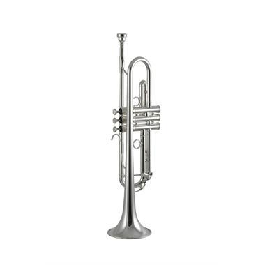 Yamaha YTR5335GS B flat trumpet (silver) thumbnail