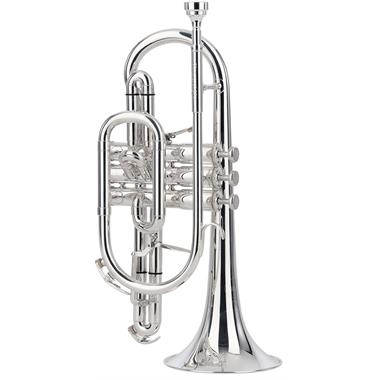 Besson Sovereign BE928GT-2 B flat cornet (silver) thumbnail