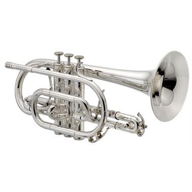 Geneva Mentor B flat cornet (silver) thumbnail