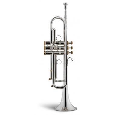 Stomvi Raptor VRII B flat trumpet (silver) thumbnail