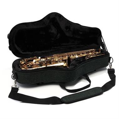 Beaumont alto sax case (racing tweed) thumbnail