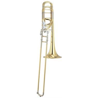 Yamaha Xeno YBL830 twin rotor bass trombone (lacquer) thumbnail