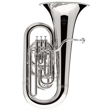 Besson Sovereign BE982-2 E flat tuba (silver) thumbnail