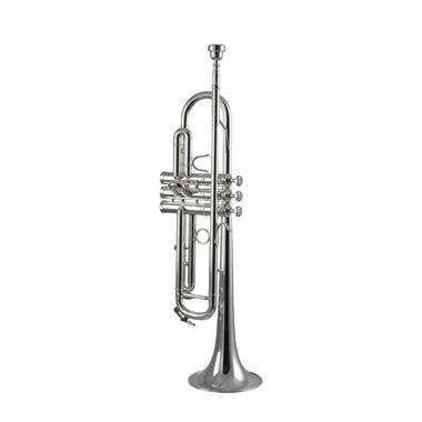 Schagerl Academia TR600S B flat trumpet (silver) thumbnail