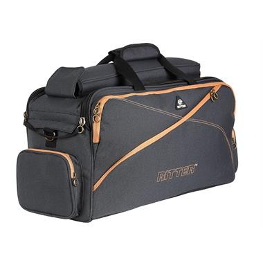 Ritter triple trumpet gigbag (misty grey/leather brown) thumbnail