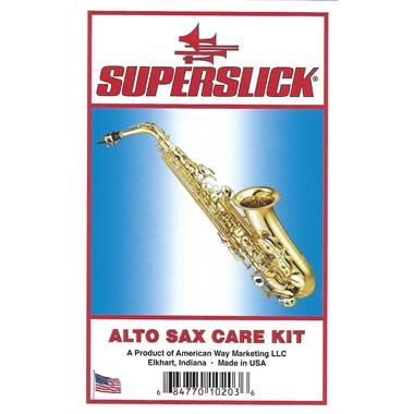 Superslick alto saxophone care kit thumbnail