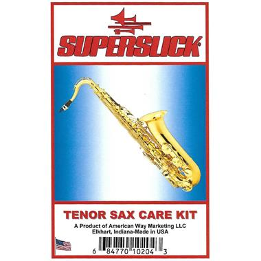 Superslick tenor saxophone care kit thumbnail