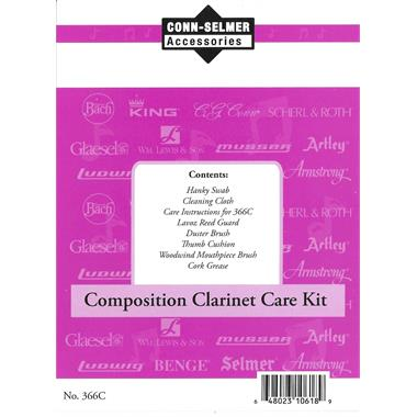 Conn clarinet care kit (plastic instruments) thumbnail