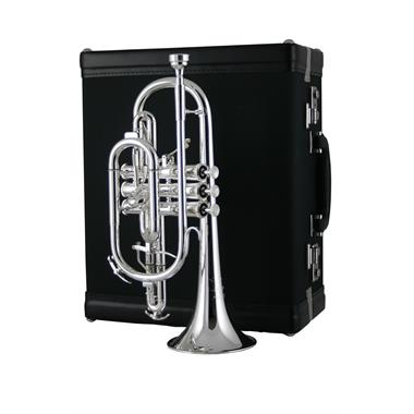 Willson Celebration 460 B flat cornet (silver) thumbnail