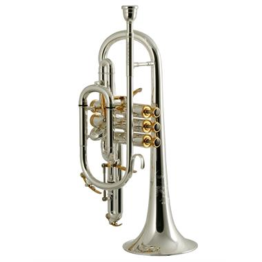 Besson Prestige BE2028-2 B-flat cornet (silver) thumbnail