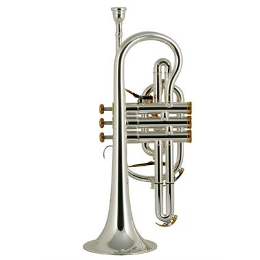 Besson Prestige 2028 B-flat cornet (silver) thumbnail
