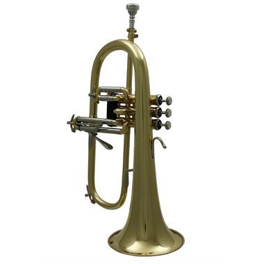 Bach Stradivarius 183G flugelhorn (lacquer) gold brass bell thumbnail