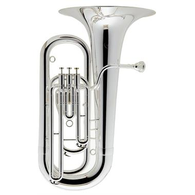 Besson BE177 E flat tuba (silver) thumbnail