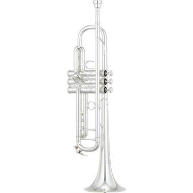 Yamaha New York YTR9335NYS02 B flat trumpet (silver) thumbnail