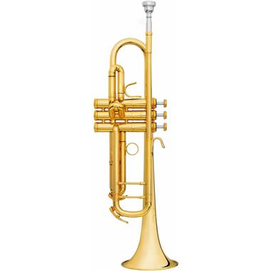 B&S Challenger II 3137IIS B flat trumpet (silver) thumbnail