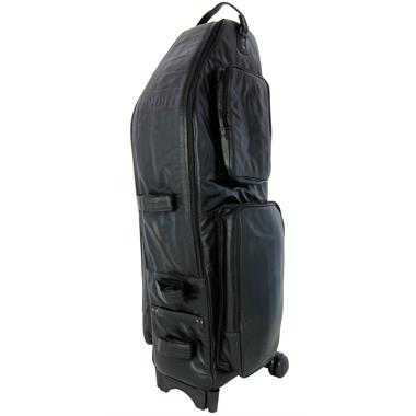 Bach Selmer wheelie baritone saxophone case (leather) thumbnail