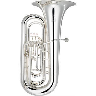 Yamaha Neo YBB632S B flat tuba (silver) thumbnail