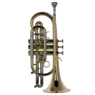 Schagerl 620L B-flat cornet (lacquer) thumbnail