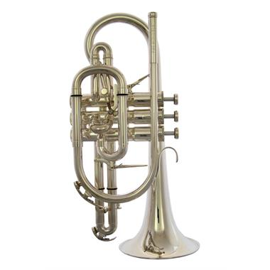 Besson Sovereign BE928GT-2 B-flat cornet (silver) thumbnail