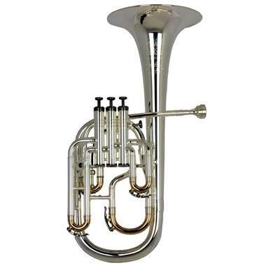 Geneva Cardinal tenor horn (silver) thumbnail