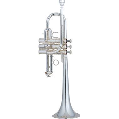 Yamaha Custom YTR9635 E/E-flat trumpet (silver) thumbnail