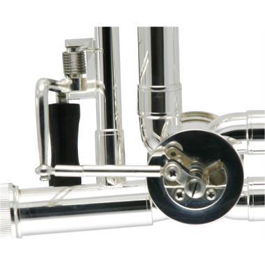 Catelinet CTB13S B flat/F tenor trombone (silver) thumbnail