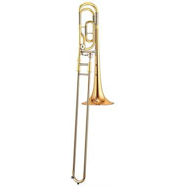 Yamaha YSL446GE B flat/F tenor trombone (lacquer) thumbnail