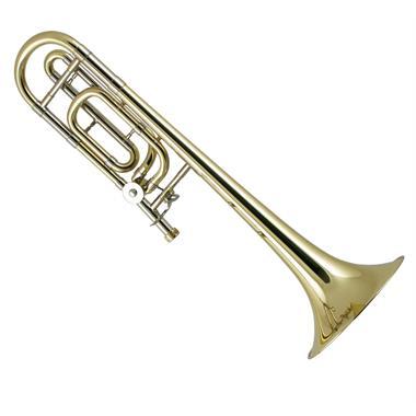 Bach Stradivarius 42B B flat/F tenor trombone (lacquer) thumbnail