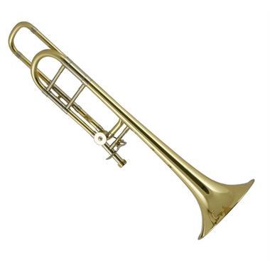 Bach Stradivarius 42BO B flat/F tenor trombone (lacquer) lightweight slide thumbnail