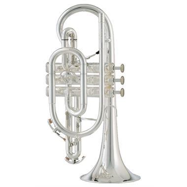 [Ex-Demo] Geneva Mentor B-flat cornet (silver) thumbnail