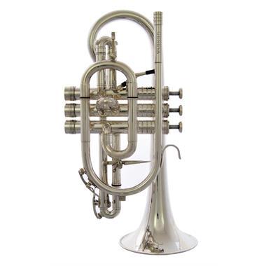 [Ex-demo] Geneva Symphony B-flat cornet (silver) thumbnail