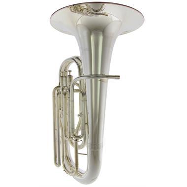 [Ex-Demo] Geneva Mentor E-flat tuba (silver) thumbnail