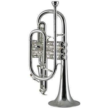 Catelinet Rousseau HC20S B-flat cornet (silver) thumbnail