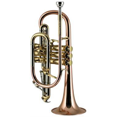 Catelinet Rousseau HC20 B-flat cornet (lacquer) thumbnail