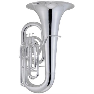 [Ex-demo] Geneva Symphony E-flat tuba (silver) thumbnail