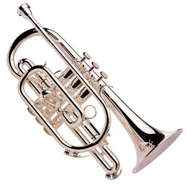 Besson Prodige B-flat cornet (silver) thumbnail