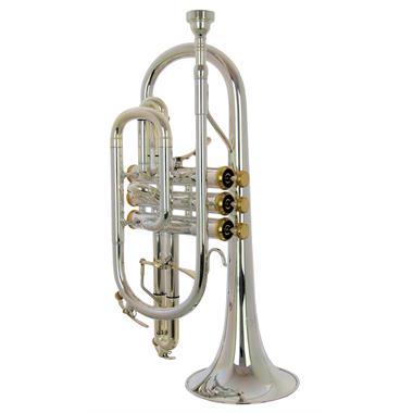 Catelinet Cadet CCR14ST B-flat cornet (silver-plate) thumbnail