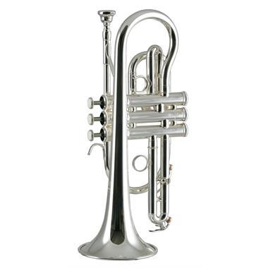 Yamaha YCR4330GSII B flat cornet (silver) thumbnail