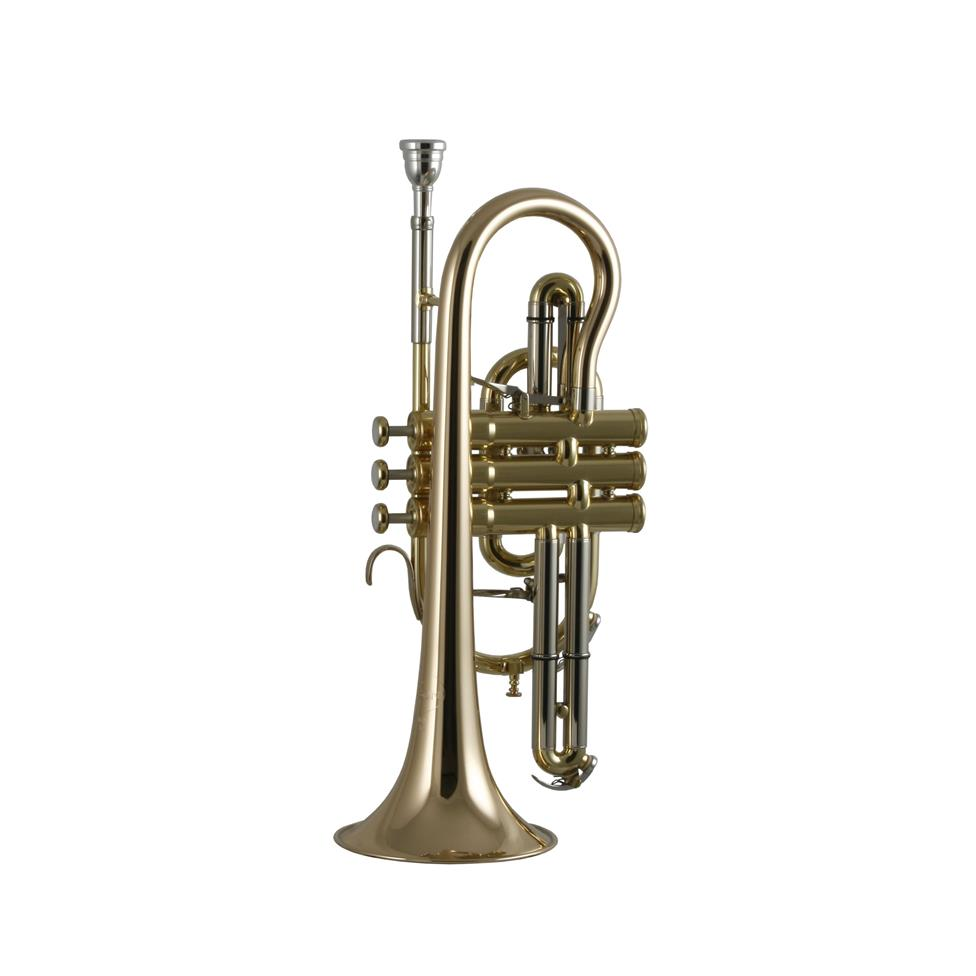 Besson Sovereign BE928-1 B flat cornet (lacquer) Thumbnail Image 0