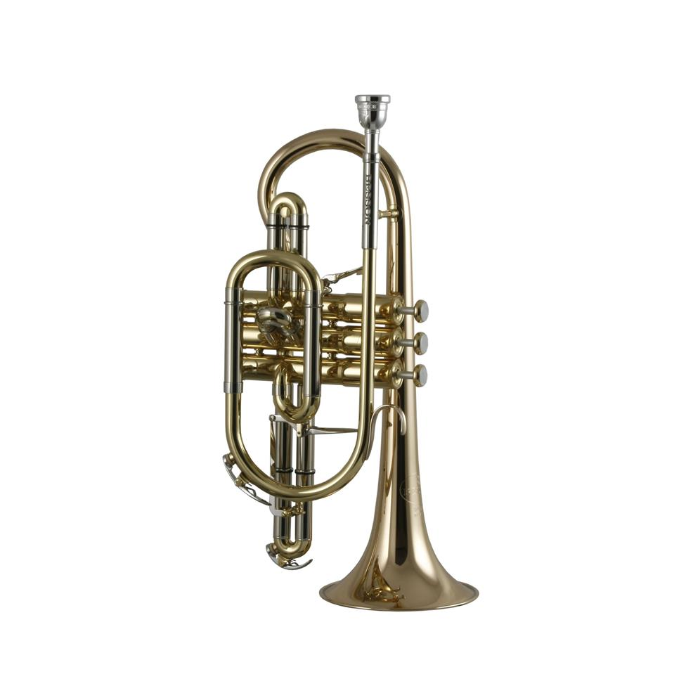 Besson Sovereign BE928-1 B flat cornet (lacquer) Thumbnail Image 1
